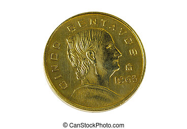 Centavos - 1963 Mexican Coin