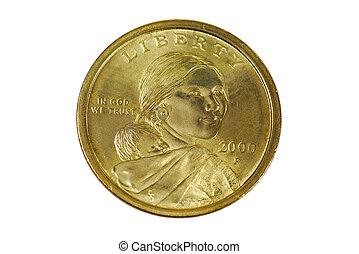 Sacagawea, dólar