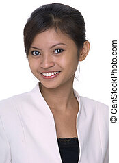 Asian Model 6 - A pretty young asian woman in business...