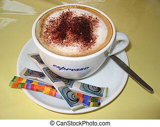 Cappuccino - Italian cappuccino.