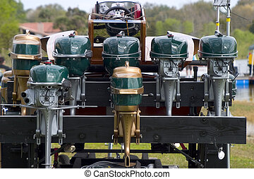 Outboard - Old Outboard engines