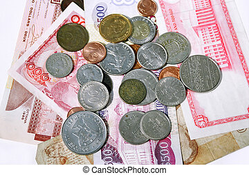 world money - different world currency