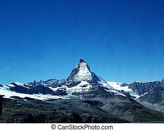 Matterhorn - Digital photo of the Matterhorn. The Matterhorn...
