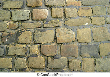 Cobbled Street - Cobbled street detail