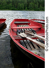 Boats in the lake