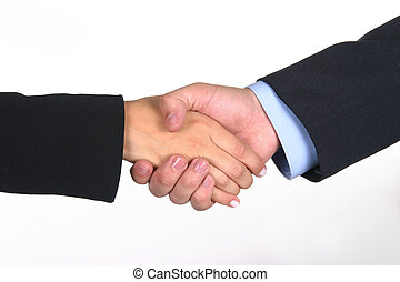 Deal I - Hand shake closing a deal