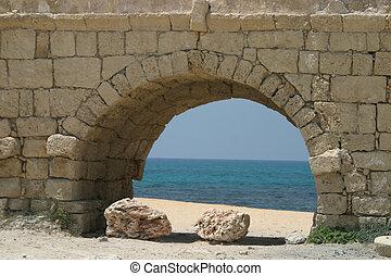 Aqueduct - Caesarea, Israel