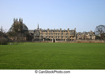ChristChurch College - Christ Church college, Oxford...