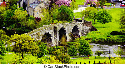 Stirling Bridge, - Stirling Bridge Scotland, the most famous...