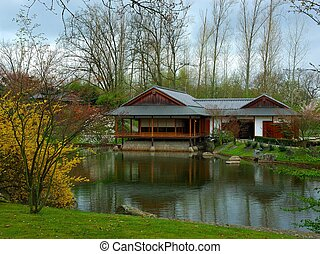 Tea house - A japanese tea house