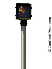 Crossing Signal - Isolated Crossing Signal