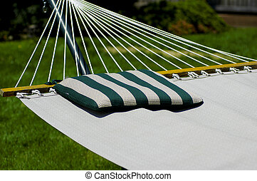 Hammock - Photo of a Hammock with a Pillow