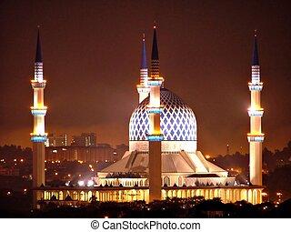 Mosque 01 - Sultan Salahuddin Abdul Aziz Shah Mosque, Shah...