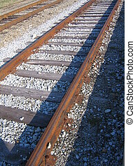 Making Tracks - Rural Railroad tracks
