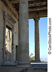 Main entrance - Ancient temple portal.