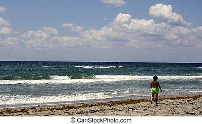 beach walk - Delray Beach Florida