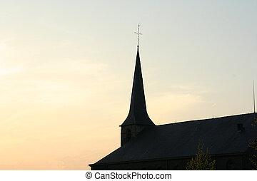 Church silhouette