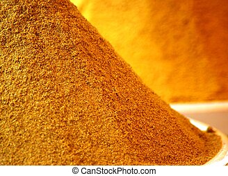 Curcuma powder or turmeric powder
