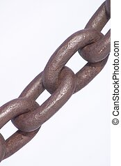 Chain - Four links of iron chain