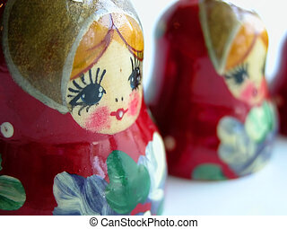Russian Stack Dolls - Russian stacking dolls