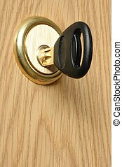 Door Lock - Key and door lock