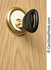 Door Lock - Key and door lock
