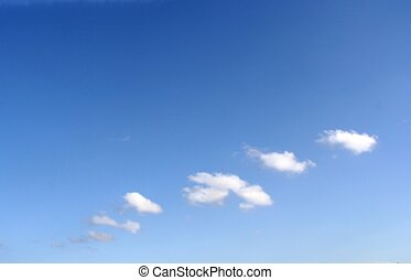 Dreamy clouds - Softly focused dreamy clouds. Ideal as...