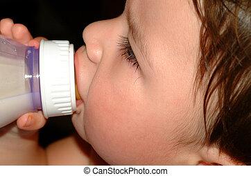 Baby-Sucking bottle
