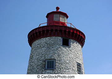 Lighthouse - Battle of the Windmill, Prescott, Ontario,...