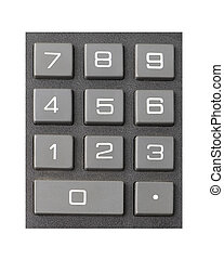 Large Numeric Keypad - Large numeric calculator keypad...