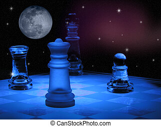 Space Chess - Chess in space