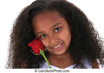 Child Girl Flower