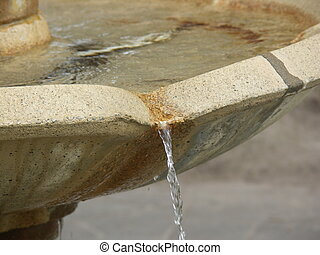 Fountain - A close-up of a fountain