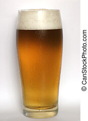 Beer - Glass of beer - macro