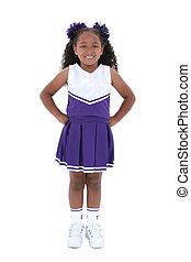 Child Cheerleader - Beautiful Six Year Old Cheerleader In...
