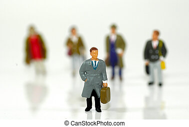 Little Business People 3 - Miniature Business People