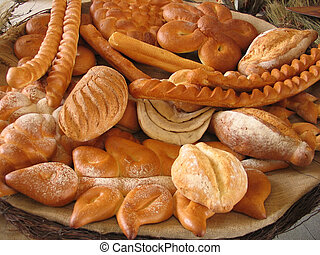 Bakery 1 - Group of bakery products