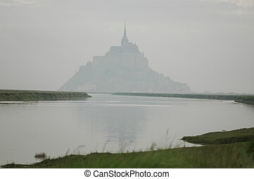 Mont Saint Michel - Le Mont Saint Michel, Normandy, France