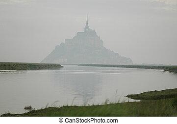Mont Saint Michel - Le Mont Saint Michel, Normandy, France