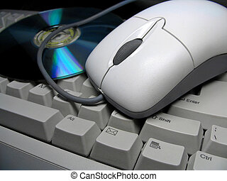Keyboard-mouse-CD