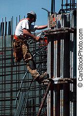 construcción, trabajo