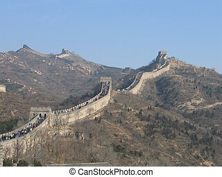 Great Wall of China - The Great Wall of China, Diagonal...
