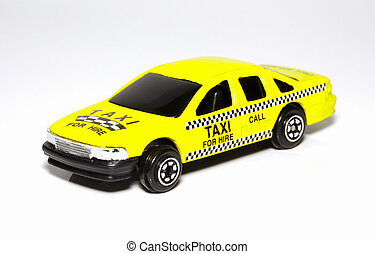 Taxicab - Yellow Checkered Taxicab
