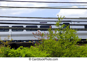 Passenger Train - Photo of a Passenger Train Car