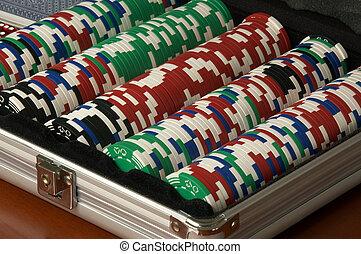Poker Chips - Poker Chip set for Texas Hold 'em Poker