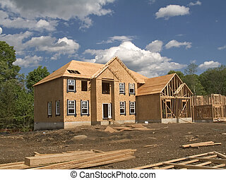Under Construction - This is a shot of a couple homes in...