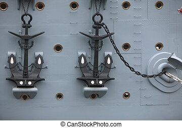 anchors - Cruiser Aurora - anchors