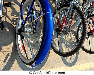 bicicleta, parachoques