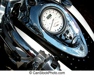 zero to 120 - motorcylye speedometer
