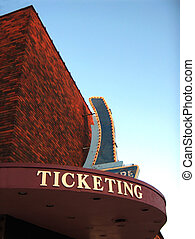 Theatre Marquee - retro MArquee from a theatre